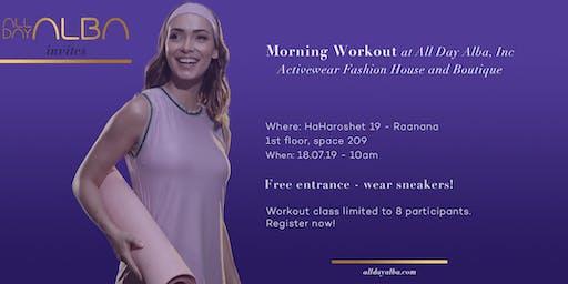 AllDayAlba weekly workout