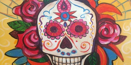 Sugar Skull Paint and Sip tickets