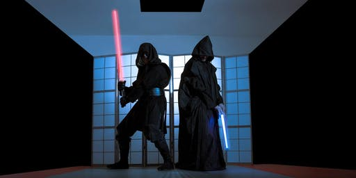 LED sabre workshop Tuesday 23rd July 10-11am 8-14 years