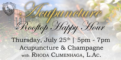 Acupuncture Rooftop Happy Hour tickets
