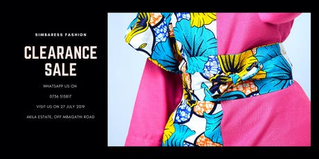 Simbaress Fashion SALE tickets