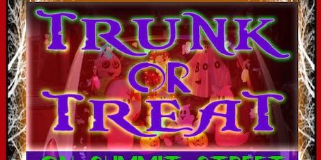 Trunk Or Treat on Summit Street tickets