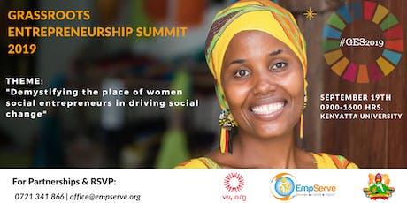 Grassroots Entrepreneurship Summit 2019 tickets