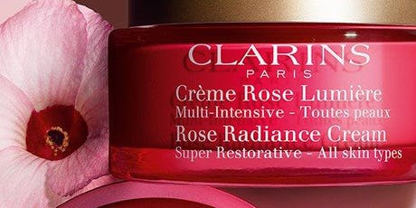 Clarins NEW Rose Radiance Cream  tickets