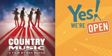 Country Music and Yes! We're Open Preview Screening tickets