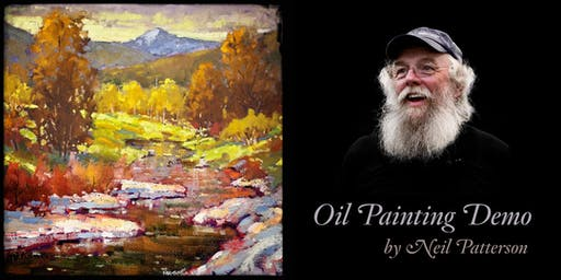 Landscape in Oil • Demonstration by Neil Patterson