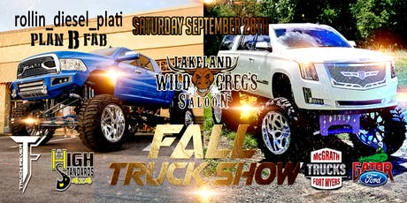 Wild Greg's Fall Truck Show Participant tickets