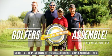 BLESSINGS ABOUND GOLF BENEFIT - 2019 tickets