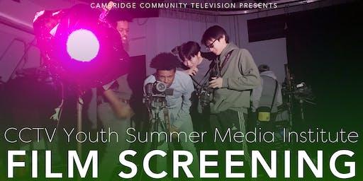 CCTV Youth Summer Media Institute Film Screening