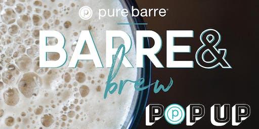 Barre & Brew Pop-Up - Pure Barre Delafield X Winnebeergo