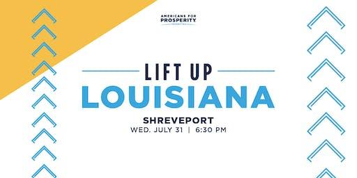 AFPF-LA: Lift Up Louisiana Tax & Budget Reform - Shreveport