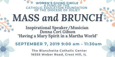 Women's Giving Circle Mass and Brunch
