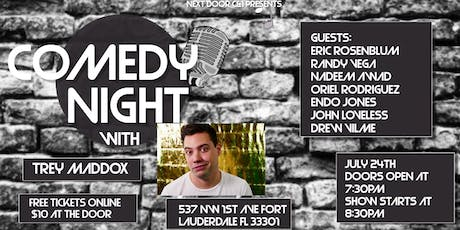 Comedy Night with Trey Maddox tickets