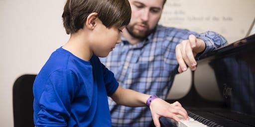 UNCSA Community Music School Fall Open House & Parent Orientation - FREE DEMO LESSONS