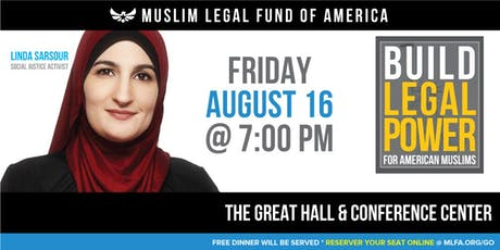 Build Legal Power for American Muslims with Linda Sarsour - Germantown, TN tickets
