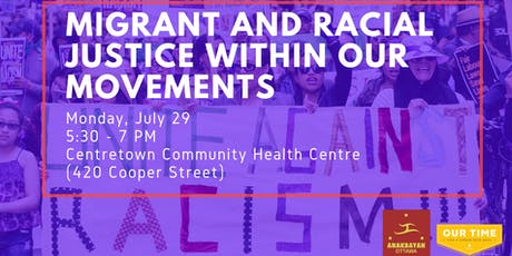 Migrant & Racial Justice Within Our Movements tickets