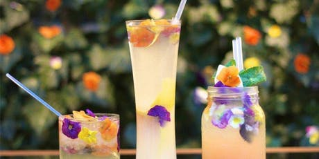 You Can Make This:  Flower Cocktails and Mocktails! tickets