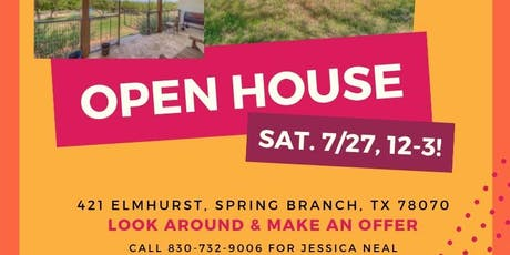 421 Elmhurst Open House tickets