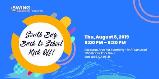 Swing Education's South Bay Back to School Kick Off!