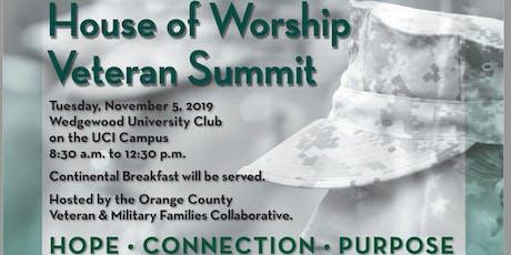 House of Worship Veteran Summit tickets