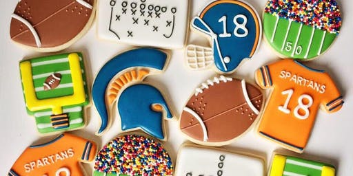 Tailgate Football Beginner Cookie Class - Spring Hill