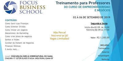 FBS-Treinamento Focus Business School Para Professores-DF
