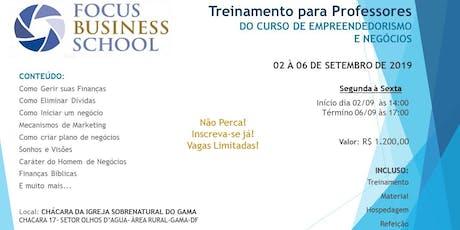 FBS-Treinamento Focus Business School Para Professores-DF ingressos