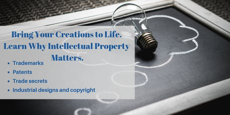 Bring Your Creations to Life. Learn Why Intellectual Property Matters tickets
