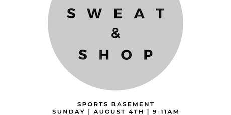 Sweat & Shop at Sports Basement tickets