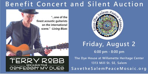 Benefit Concert and Silent Auction with Terry Robb