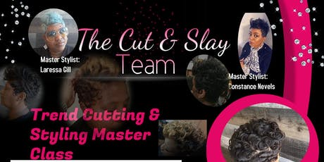 Trend Cutting & Styling Master Class tickets