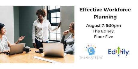 Effective Workforce Planning tickets