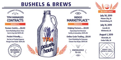 Bushels & Brews: A TFM Power Hour - Mason City