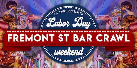 Las Vegas Labor Day Weekend Fremont Street Bar Crawl tickets