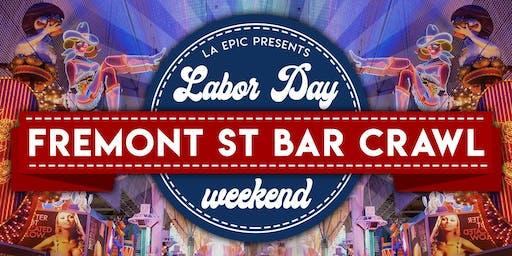 Las Vegas Labor Day Weekend Fremont Street Bar Crawl