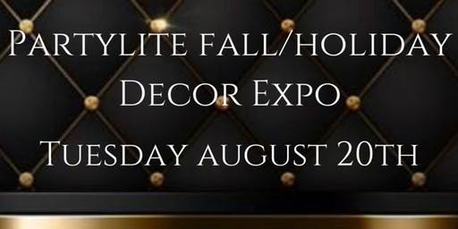PartyLite Fall & Holiday Decor Expo Launch