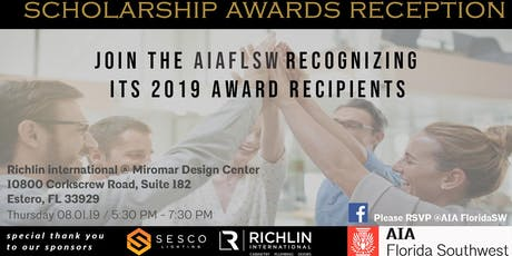 American Institute of Architects FL SW - 2019 Scholarship Awards tickets