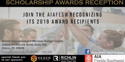 American Institute of Architects FL SW - 2019 Scholarship Awards