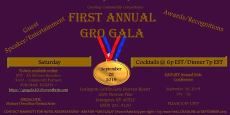 First Annual GRO Gala tickets