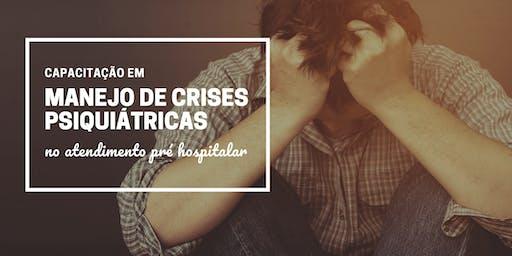 Capacitação em Manejo de Crises Psiquiátricas