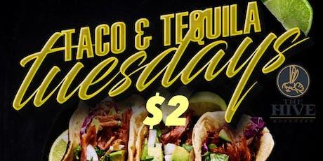 Tuesday: $2 taco Tuesday . $5 margaritas /sangria . Music . Patio . Hookah tickets
