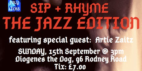 Sip + Rhyme: The Jazz Edition  tickets