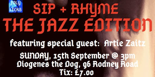 Sip + Rhyme: The Jazz Edition