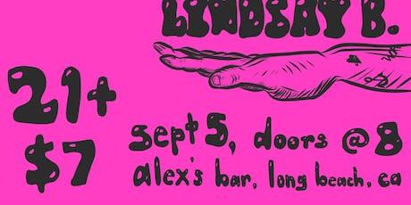 Slugs + Cheekface + Grinning Ghosts + Lindsay B tickets
