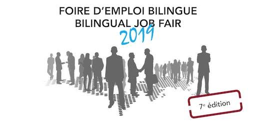 Bilingual job fair- Registration  employer / Foire d'emploi- Inscription employeur