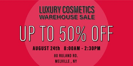 Special Invitation Warehouse Sale - AUGUST 24, 2019 tickets