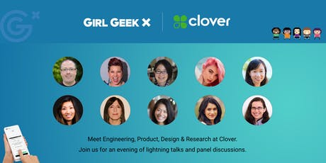 Clover Girl Geek Dinner! tickets