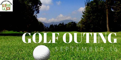 Case of the Monday's Golf Outing