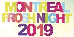 MONTREAL FROSH NIGHT 2019 @ LE CINQ NIGHTCLUB |...