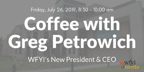 Coffee with Greg tickets